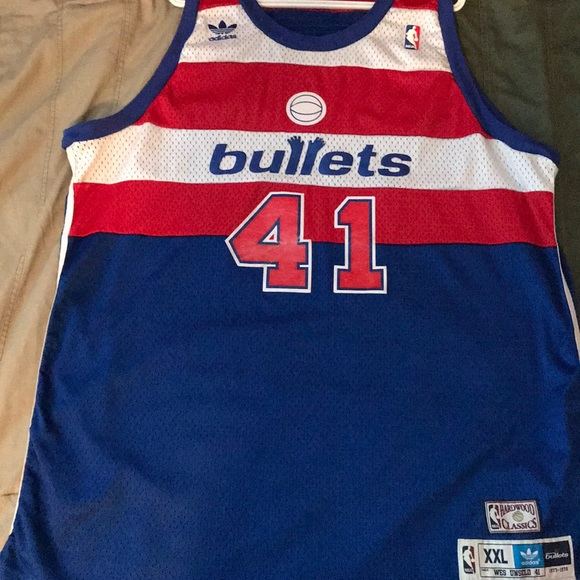 951dc079a adidas Other - Wes Unseld Vintage Washington Bullets Jersey